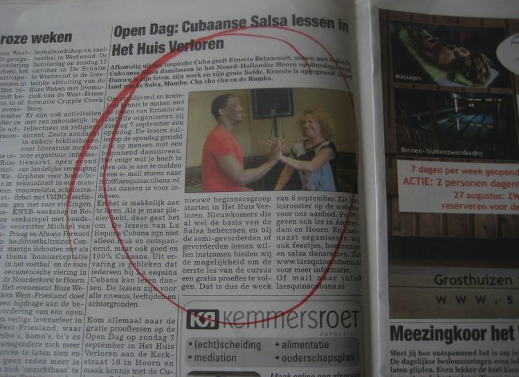 Als je bedrijf in de krant staat, groeit je naamsbekendheid.