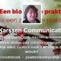 De twitterbio van Karssen Communicatie